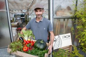 Légumes et truites fumées de la FADA