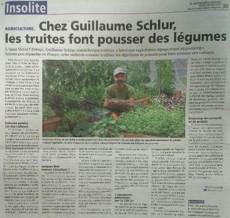 Article des «Informations dieppoises»